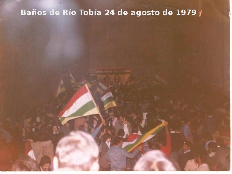 Recital de Antonieta Larrea y La Bullonera el 24 de agosto de 1979
