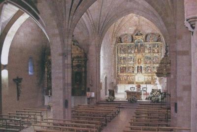 Interior de la iglesia