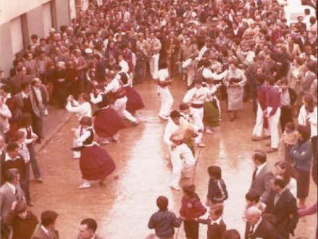 Foto de danza antigua