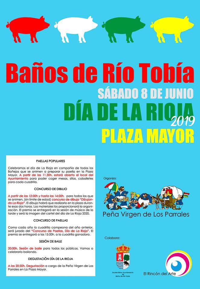 Banos Jurado.Banos Celebrara El Dia De La Rioja Banos De Rio Tobia